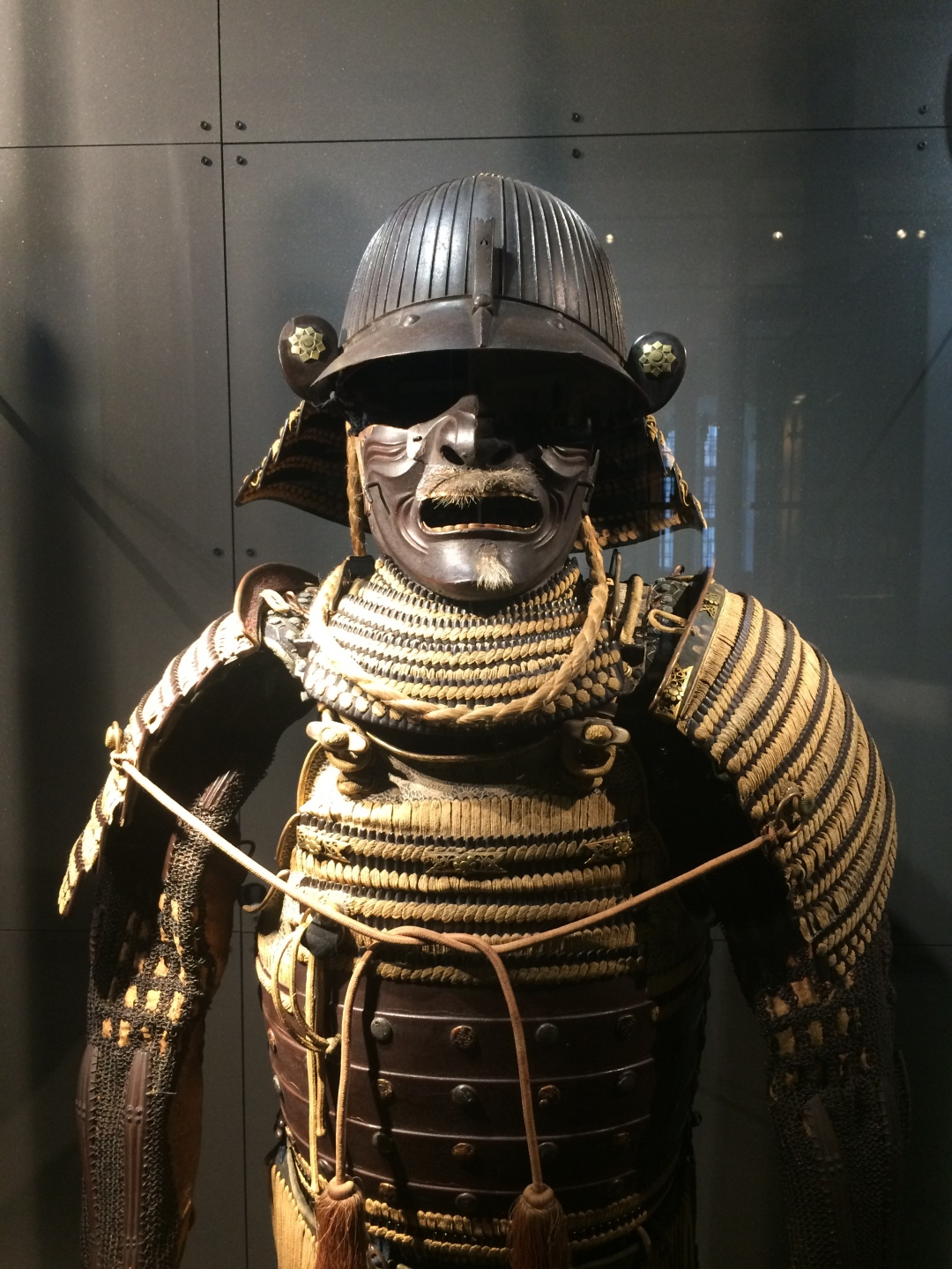 Descriptive image. Japanese armour.