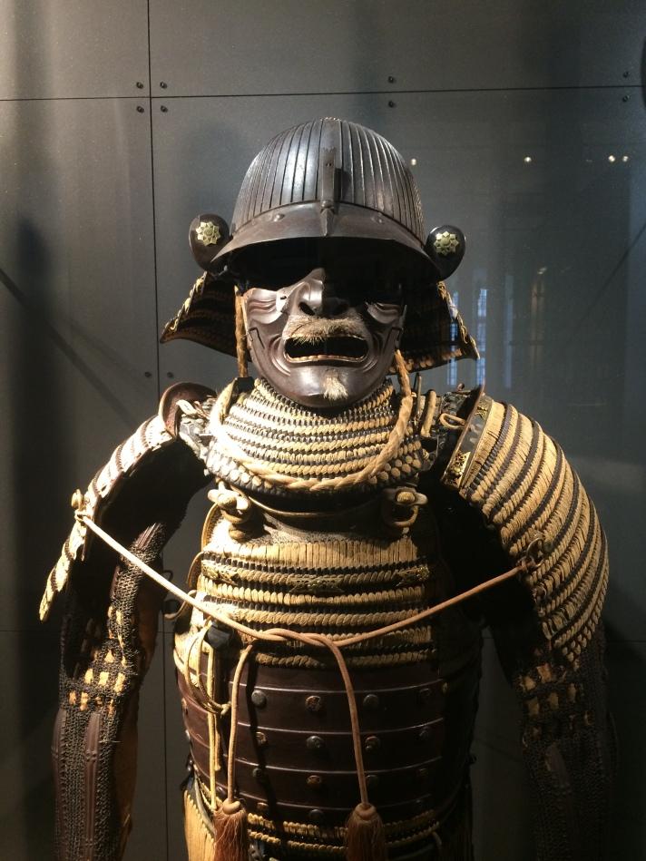 Descriptive image. Japanese armour.