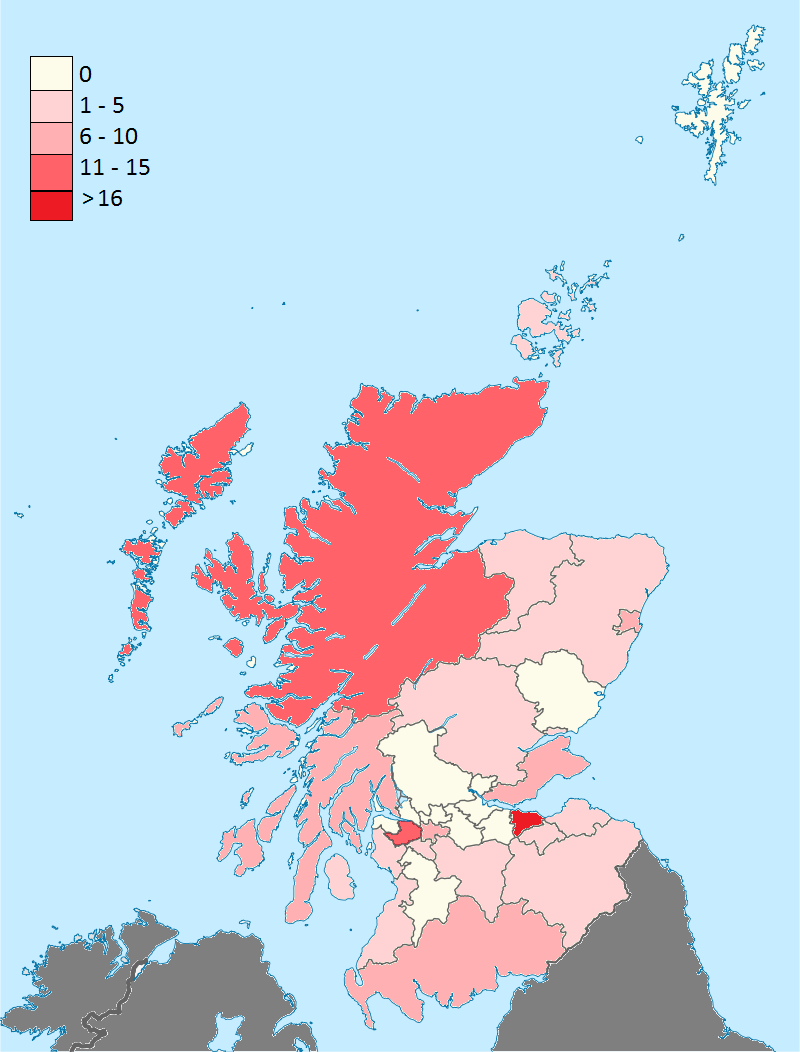 Scotland plotted